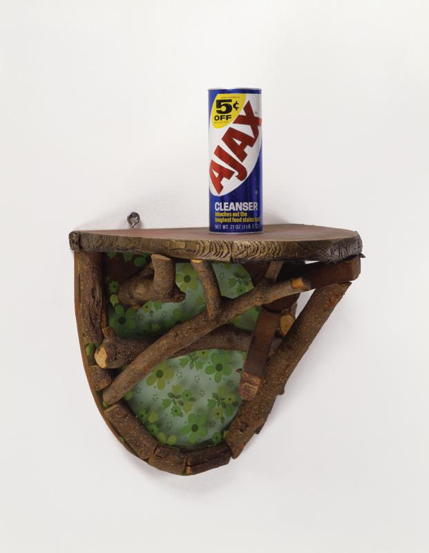 Shelf with Ajax, 1981